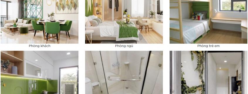 Chung cư Picity có thiết kế căn hộ hiện đại